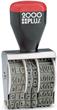 012731 - #2 2000 Plus Line Dater