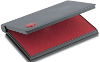 "2000 Plus No. 1 Felt Pad <span style=""color: red;"">Red</span>"