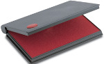 """090410 - 2000 Plus No. 1 Felt Pad <span style=""""color: red;"""">Red</span>"""