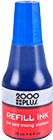 "090677 - <span style=""color:blue;"">BLUE</span> - 2000 Plus 1 oz. Stamp Pad Ink"