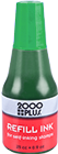 "090678 - <span style=""color:green;"">GREEN</span> - 2000 Plus 1 oz. Stamp Pad Ink"