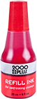"090676 - <span style=""color:red;"">RED</span> - 2000 Plus 1 oz. Stamp Pad Ink"