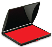 """SHINY-3-RED - Shiny No. 3 Felt Pad <span style=""""color: red;"""">Red</span>"""